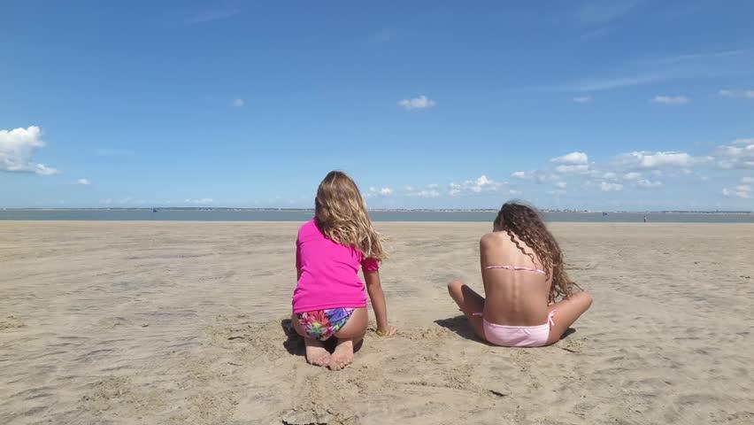 Girls at the beach | Shutterstock HD Video #11310305