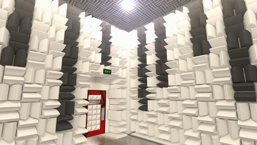 Soundproof Room Stock Footage Video 11574623 | Shutterstock