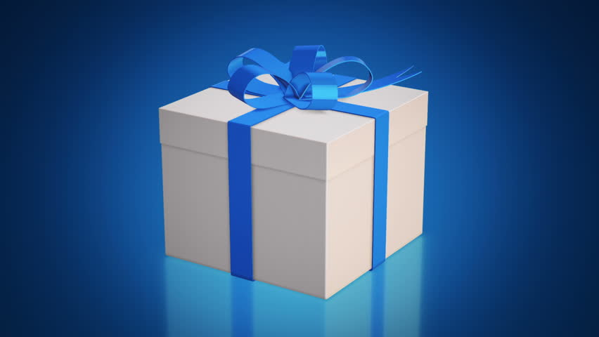 Animation slow rotation of gift box with color ribbons animation animation slow rotation of gift box with color ribbons animation of seamless loop stock footage video 11351555 shutterstock negle Images