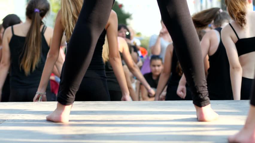 Teen photo of girls dancing, huge penis in ass
