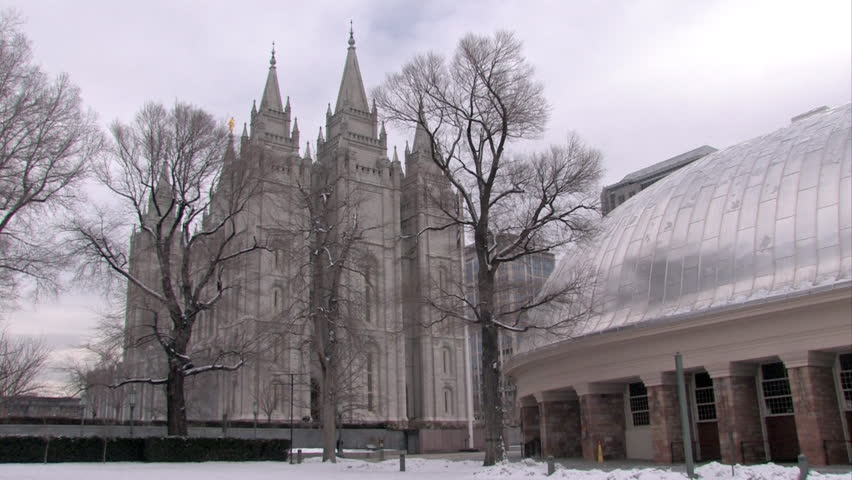Video of the Mormon Temple Stock Footage Video (100% Royalty-free) 114706 |  Shutterstock