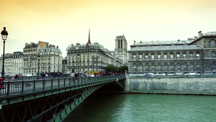 PARIS FRANCE JUNE River Seine Cruise Building In A - Is paris in france