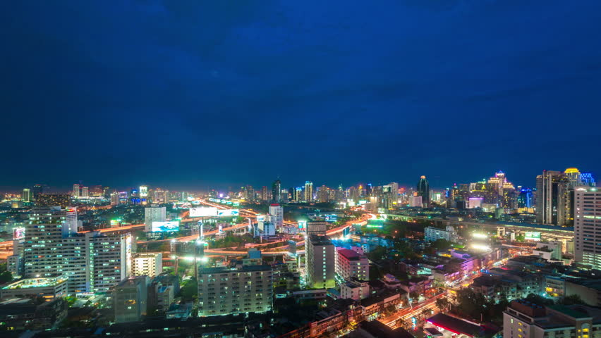 Aerial Footage Of Ocean Drive Miami Beach At Night Circa 2014