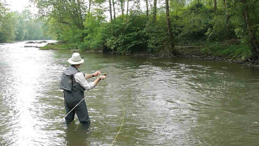 A man pans for gold on the mokelumne river near san andrea for Mokelumne river fishing
