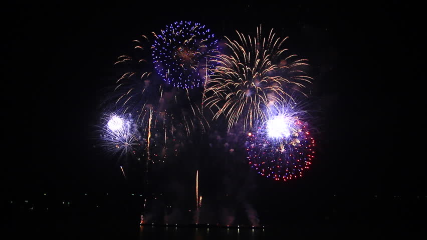 Firework display  | Shutterstock HD Video #11561567