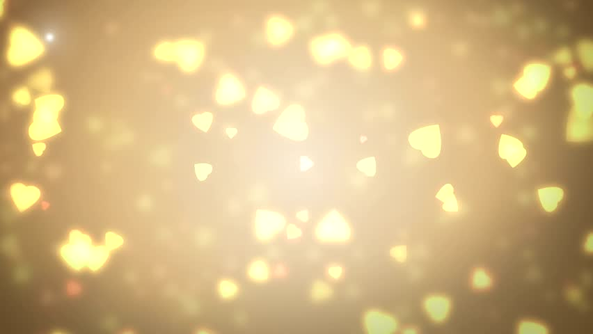 Gold abstract lights bokeh background. Moving gloss particles background loop. Slow motion. Soft beautiful backgrounds.    Shutterstock HD Video #11583575