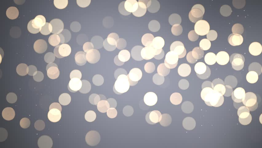 Christmas bokeh particles simulating blurred christmas lights. - Christmas Bokeh Particles Simulating Blurred Stock Footage Video