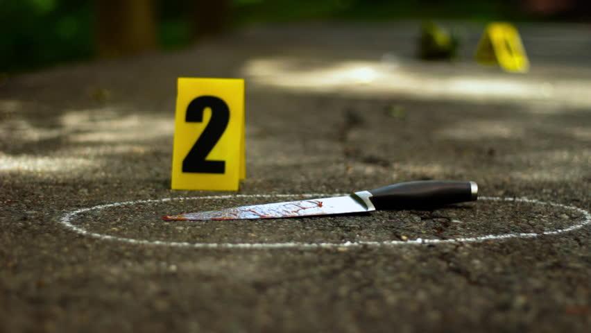 Crime scene evidence