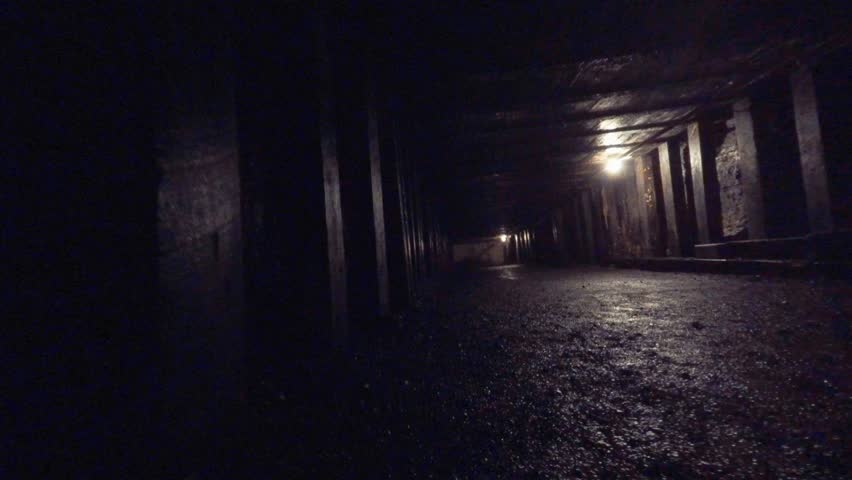 Scary Alley Realistic 3d Render Stock Footage Video