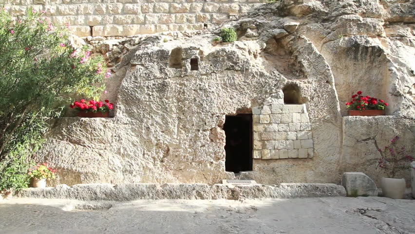 Garden Tomb, Jerusalem- Circa May, Stock Footage Video (100 ...