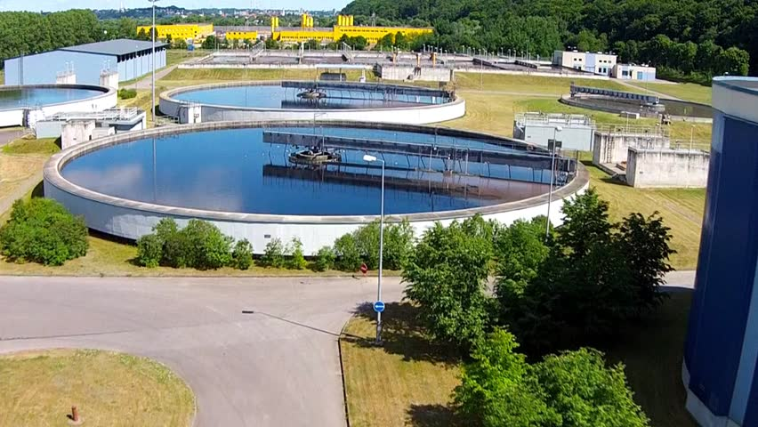 Aerial Waste Water Treatment Plant