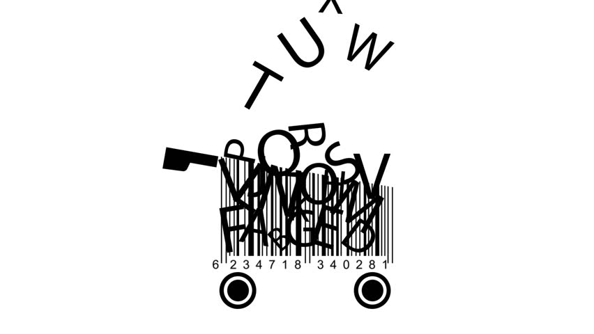 Shopping Carts Made from Barcode Stock Footage Video (100% Royalty-free)  11905835 | Shutterstock