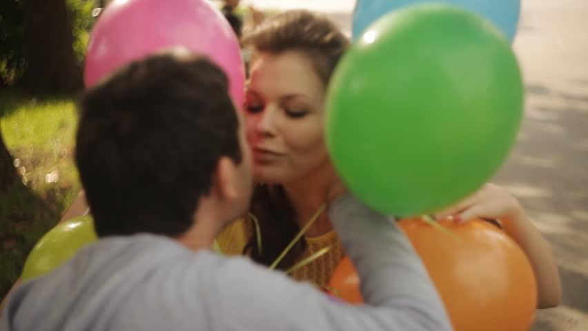 Having sex balloons video