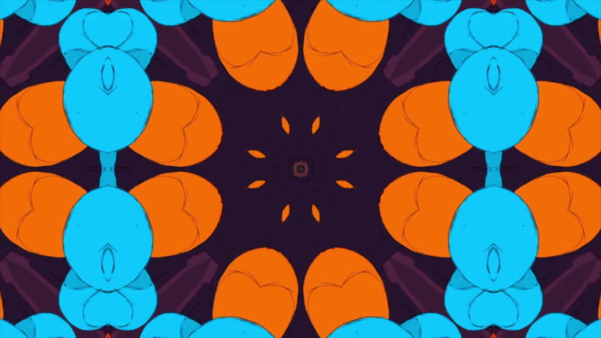 Vibrant loop able background. Symmetrical composition IF you purchase this and want the project file just contact me and i will send it so you can make some adjustments and get the effect you want. | Shutterstock HD Video #11924225