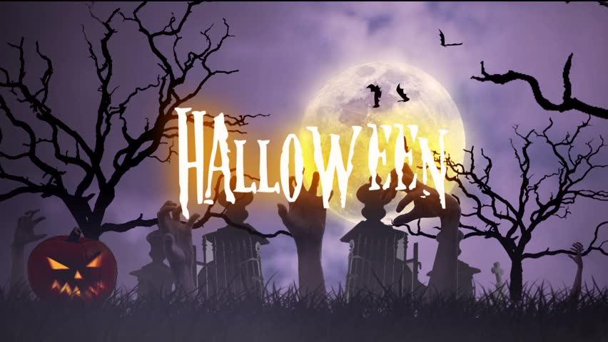 Halloween Animation Stock Footage Video 11957138   Shutterstock