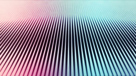 Modern design sound wave looped animation in high resolution