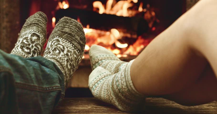 Season Fireplace Stock Footage Video   Shutterstock