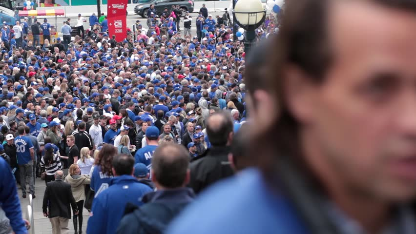 Toronto blue jays rogers centre packed crowd - OCTOBER 14TH, 2015 - Toronto World Series Playoffs Game 5 vs Texas Rangers