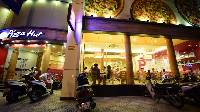 nha trang vietnam 7 october 2015 pizza hut restaurant pizza hut is - Yellow Restaurant 2015