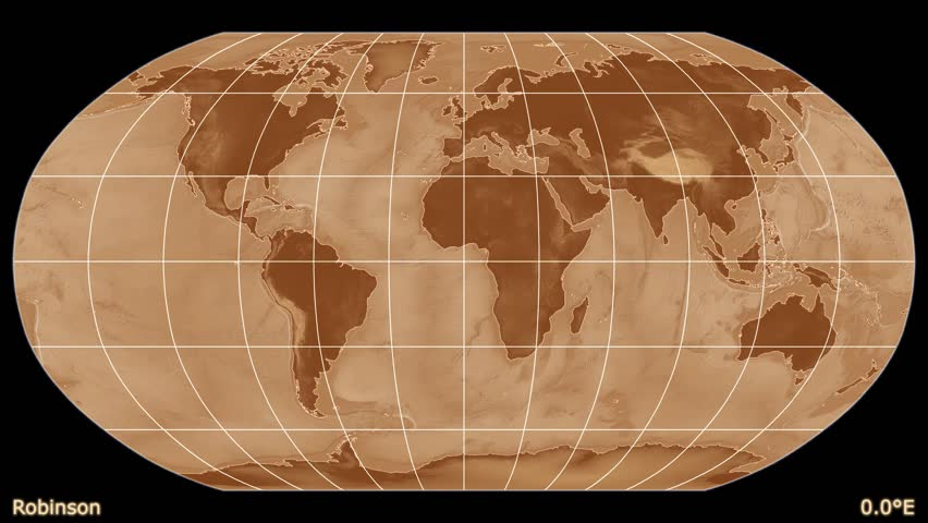 Distortion patterns animated world map in the robinson projection distortion patterns animated world map in the robinson projection shaded elevation map used elements of this image furnished by nasa stock footage video gumiabroncs Images