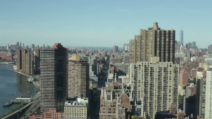 Timelapse of Midtown Manhattan and East River in New York City, USA. | Shutterstock HD Video #12323915
