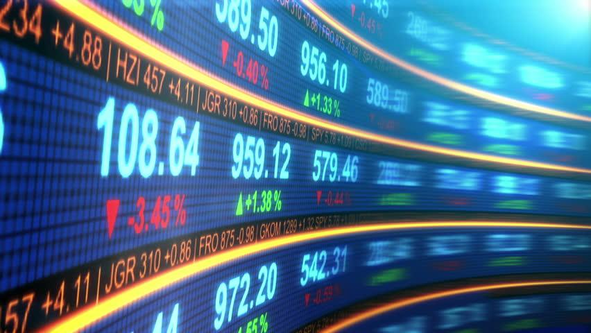 Stock Market Data Board Background Vidéos De Stock 100 Libres De Droit 12604925 Shutterstock