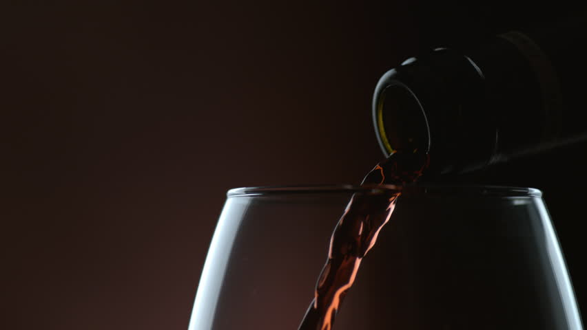 Cinemagraph - Wine pouring in slow motion. Looping Motion Photo.  | Shutterstock HD Video #12839075