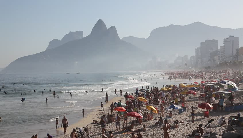 Copacabana Beach June 21, 2011