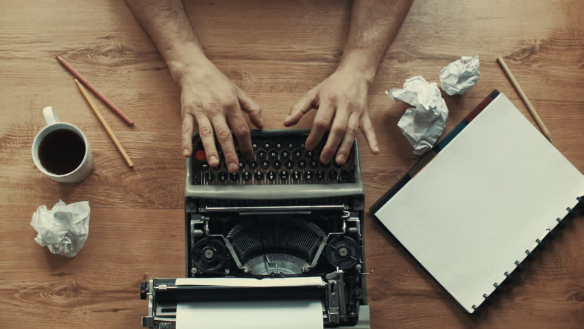 Creative Writing, old typewriter in different styles and moods. In my page, huge variety of typewriting shots in different colors included b&w, retro style. Lots of different angle, close-ups and more | Shutterstock HD Video #12955985