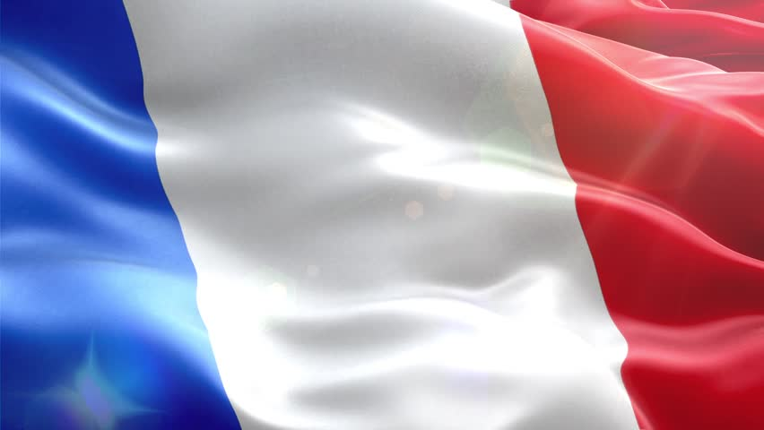 Animated 3D flag of  France. loop | Shutterstock HD Video #13031816