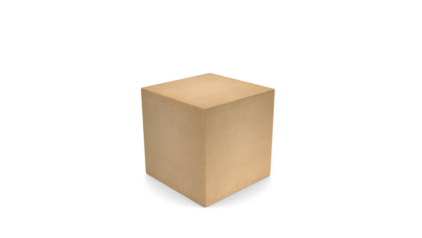 closed white cardboard box. cardboard box with zoom opening perfect for title or closed white e