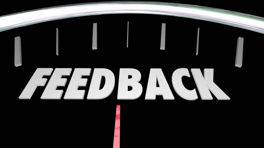 Feedback Opinions Speedometer Review Survey
