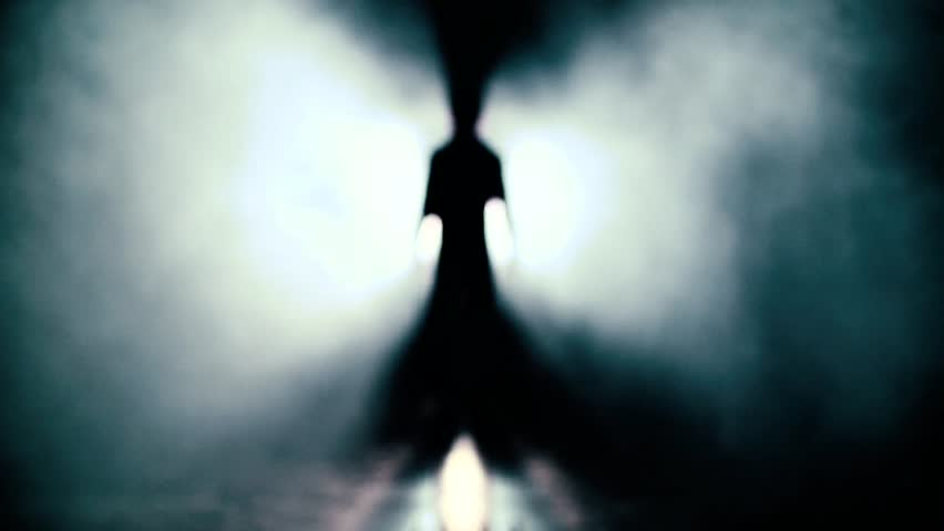 Walk to the light. Looking for exit, freedom and clinical death Slow Motion UFO | Shutterstock HD Video #13363829