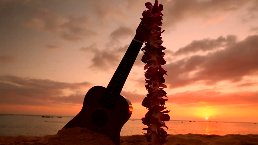 how to play beach in hawaii on guitar