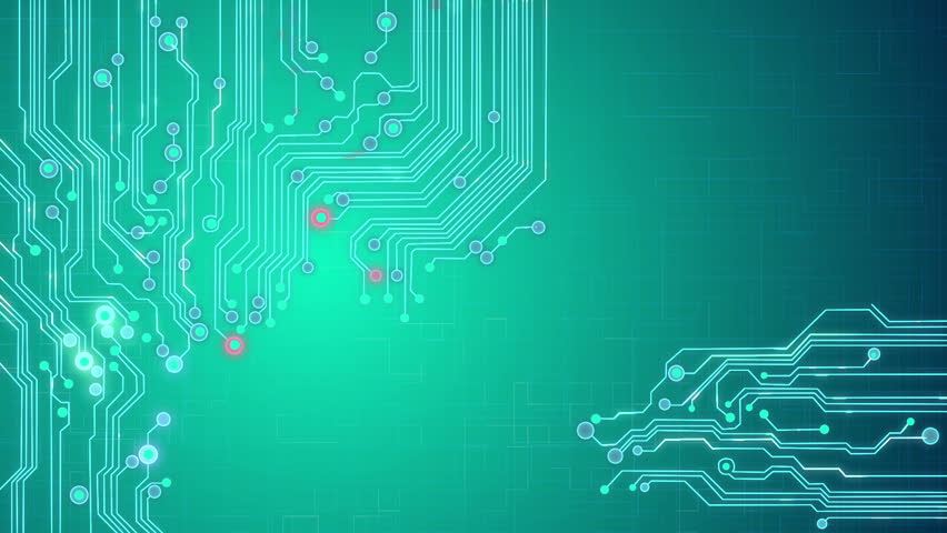 Electronic Circuit Plates Blue Loop Background Stock Footage Video 3044665 | Shutterstock