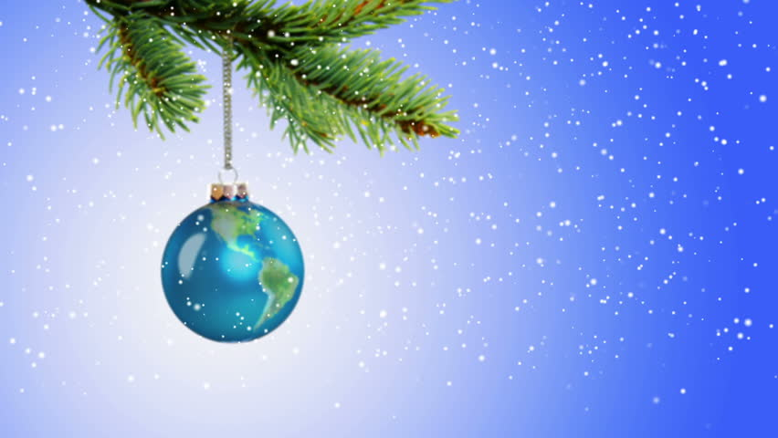 Стоковое видео «Animated Earth Globe Christmas Ornament» (абсолютно без  лицензионных платежей) 13449935 | Shutterstock - Стоковое видео «Animated Earth Globe Christmas Ornament» (абсолютно