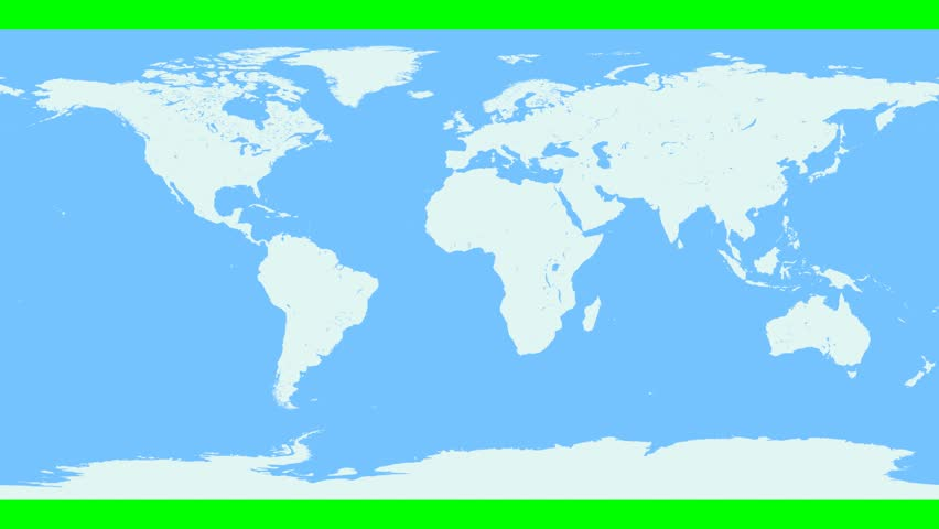 Realistic world map wraps to globe loop on white world map wraps world map wraps and unwraps from flat projection to cylinder and then sphere in a loop gumiabroncs Images