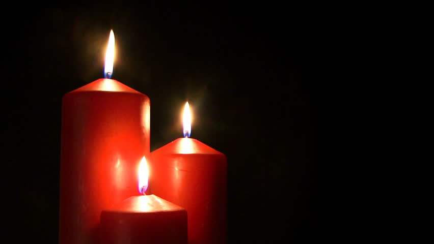 red candle black background - photo #8
