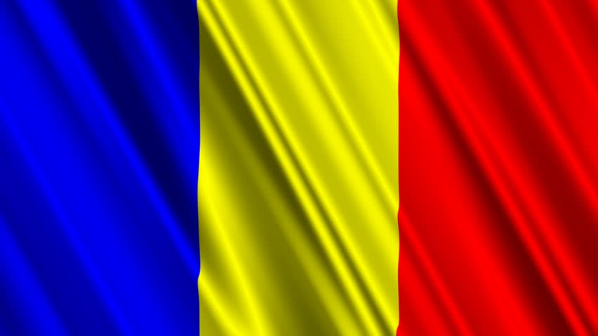 Flag Romania Animated Flag Gif