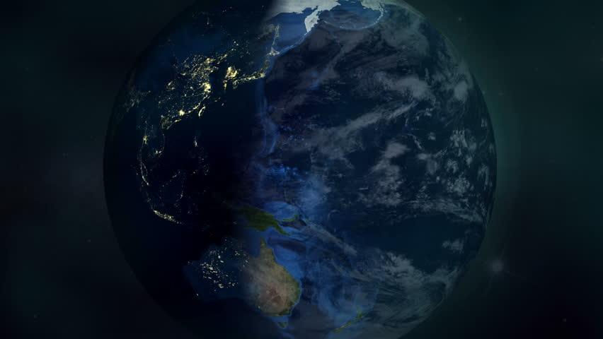 The World - Planet Earth Time-lapse Animation (4K UHD)  | Shutterstock HD Video #13783415
