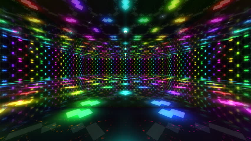 Disco Dance Floor Background Loop Stock Footage Video ...