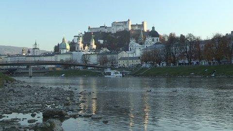Salzburg - an der Salzach - autumn - 44