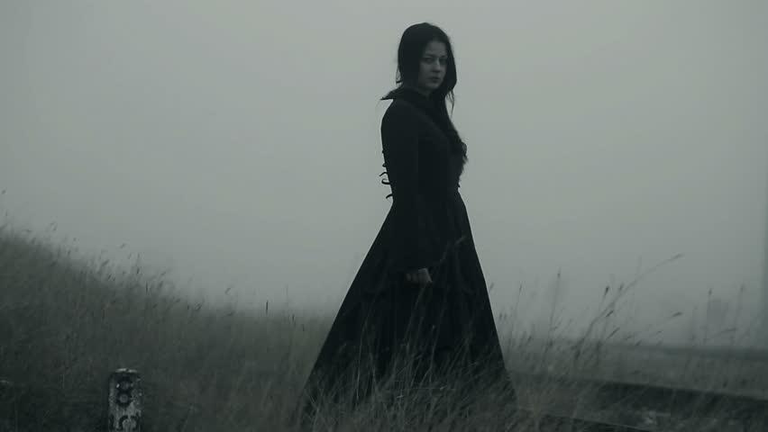 Horror scene of a scary woman | Shutterstock HD Video #13989410