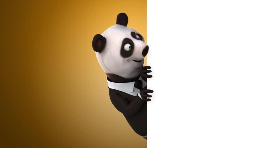 Fun panda | Shutterstock HD Video #14039933