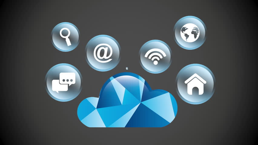 Cloud security design, Video Animation | Shutterstock HD Video #14078735