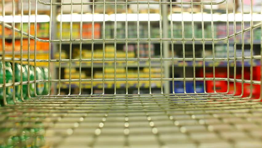 Shopping wagon chart time lapse | Shutterstock HD Video #1415629