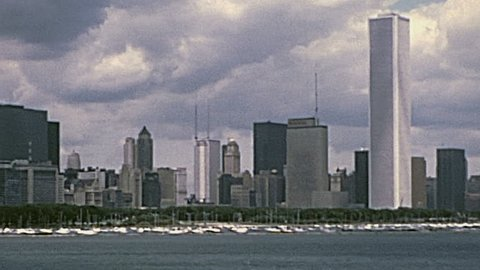 CHICAGO - 1975: the waterfront