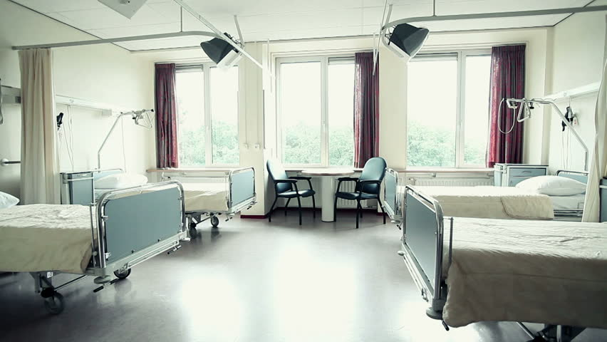 view of a hospital room