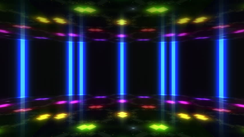 Disco Dance Floor background loop