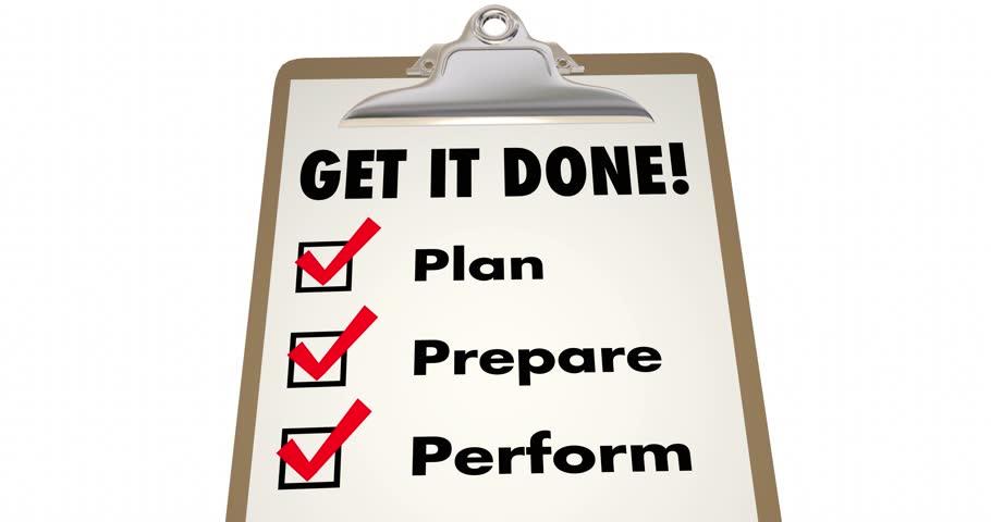 resume apply job skills education experience checklist 4k stock